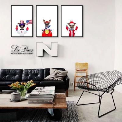 BST tranh 3d treo tường phòng khách đẹp giá rẻ TPHCM
